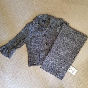Tweed Flared pantsuit 12p